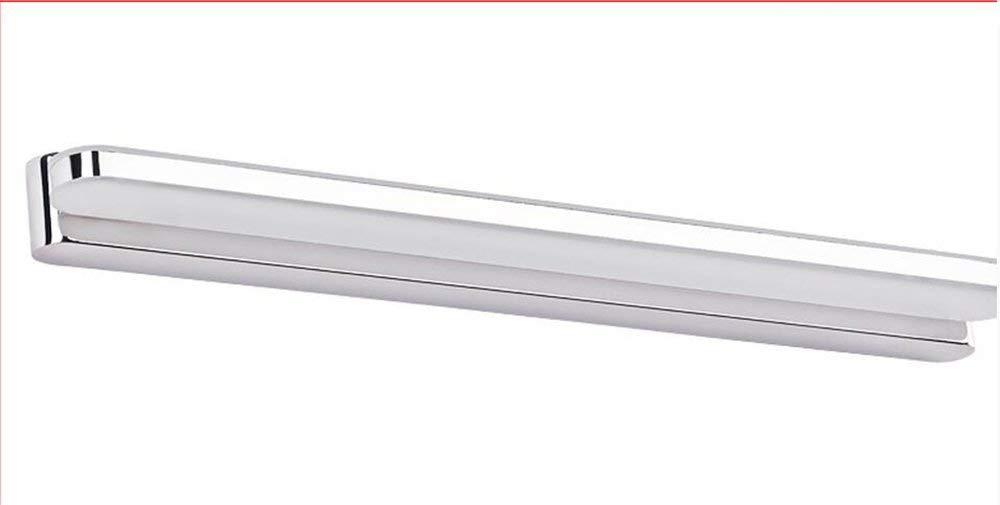 Modernes, Minimalistisches Led-Spiegel Vorne Lampen Badezimmer Spiegel Licht Badezimmer Wand Lampe Wasserdichte Nebelscheinwerfer Make-Up-Spiegel Lampen (Farbe  weißes Licht-73 Cm)