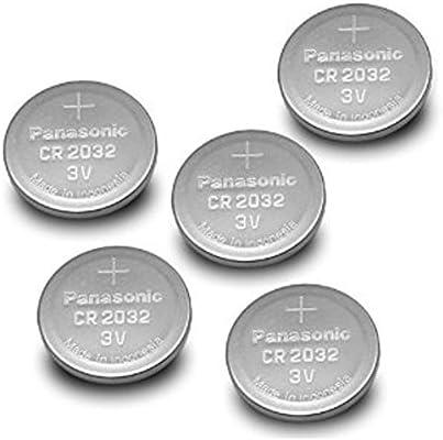 Panasonic CR2032 Pila de botón (20 Unidades, 3 V) Plata: Amazon.es ...
