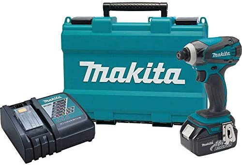 Makita XDT042-R 18V LXT Cordless Lithium-Ion 1 4 in. Impact Driver Kit Renewed