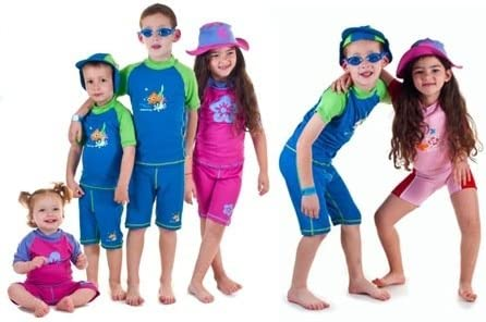 Boys Size 2 Sun Protective Rashguard Swimsuit Swim Shirt /& Shorts Age 2 Years Old