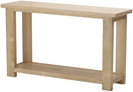 Ikea Rekarne Table Console Pin 130x38x75 Cm Amazon Fr Cuisine Maison