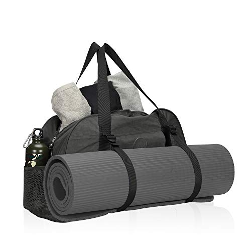 Hynes Eagle Yoga Mat Bag Sport Duffel for Gym Travel Bag 35L Grey 2018