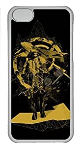 MEIMEISFBFDGR iphone 4/4s Transpartent Case Abstract Painting Art Custom Snap on Fits Hard Back Case for iphone 4/4sMEIMEI