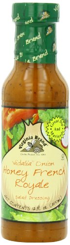 Virginia Brand Vidalia Onion Honey French Royale Salad Dressing , 12 Ounce Bottle (Pack of (Low Calorie Salad Dressing)