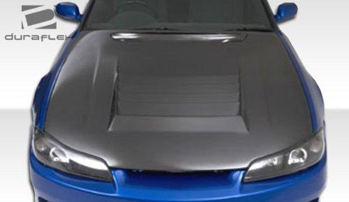 1999-2002 Nissan Silvia S15 Duraflex D-1 Hood - 1 Piece (Nissan S15 Silvia)