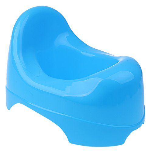 plastic easyclean potty chair chamber