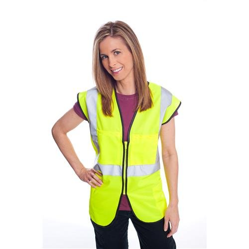 5XL Durable Safety Products 1215W83EA Durable Safety DSC2SV.5XL.ORG Class 2 Solid Vest