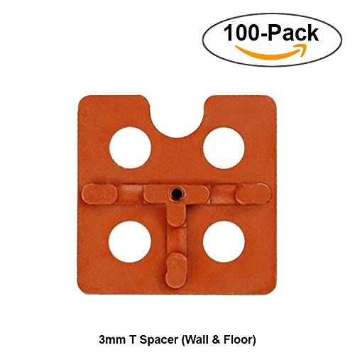 Atr tile leveling system 3mm t spacer 100pcs wall for 10mm floor tile spacers