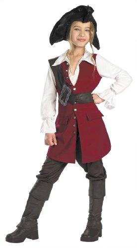 Deluxe Elizabeth Pirate Costume - (Walk The Plank Pirate Costume)