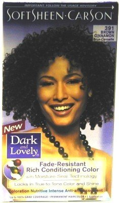 Dark and Lovely Color 391 Brown Cinnamon - 2 Pack