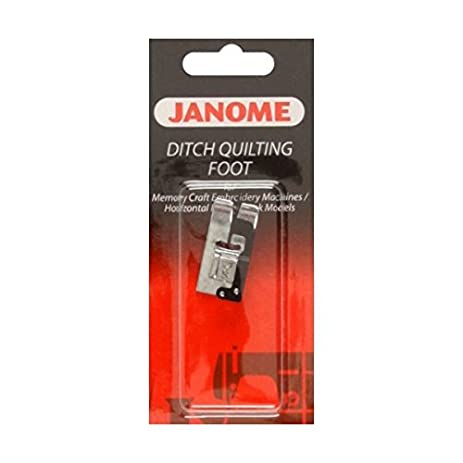 Amazon.com: Janome Ditch Quilting Foot Foot By The Each : ditch quilting foot - Adamdwight.com