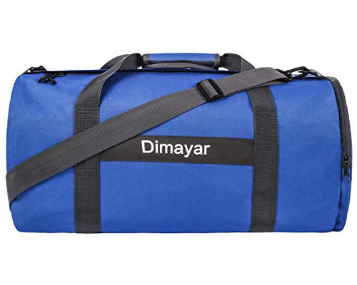 Duffel Bag 65L Packable Duffle Bag with Shoes Compartment Unisex Travel Bag Water-Resistant Duffle Bag