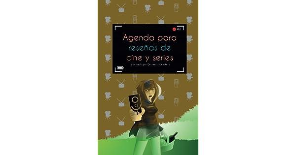 Amazon.com: Agenda para reseñas de cine y series: interior a ...