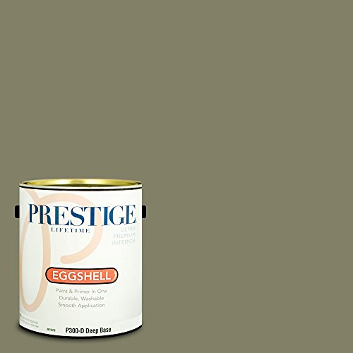 (Prestige Paints Interior Paint and Primer In One, 1-Gallon, Eggshell,  Comparable Match of Benjamin Moore Tate)