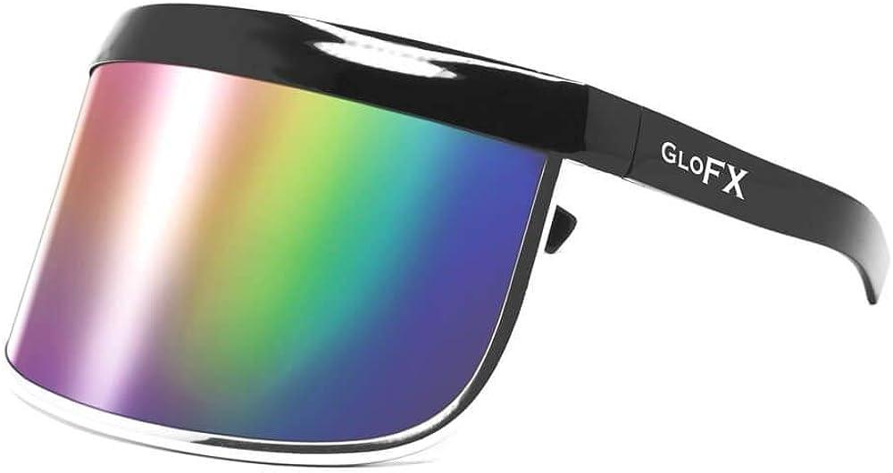 GloFX - Visera frontal y lateral para gafas de sol reutilizables