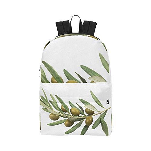 Olives Green Cartoon Classic Waterproof Daypack Travel Bags Causal College School Backpacks Rucksacks Bookbag For Kids Women Men