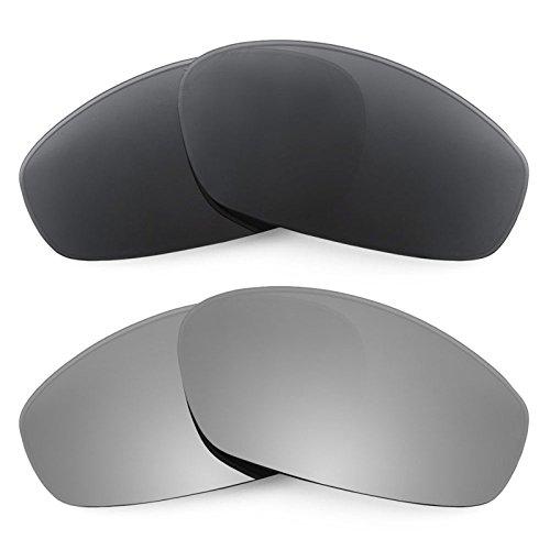 Revant Replacement Lenses for Oakley Whisker 2 Pair Combo Pack - Replacement Lens Whisker Oakley