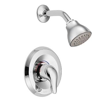 moen 3 handle shower faucet. Moen L2352 Chateau Single Handle PosiTemp Shower  Chrome
