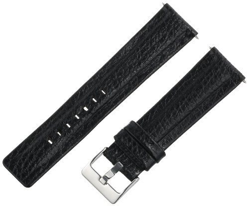 Voguestrap TX99722BK Regular Length Water Resist Watchband