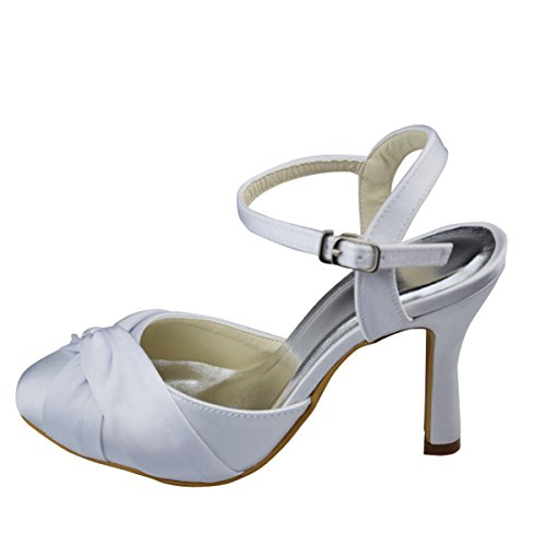 blanc cheville de Bride Blanc femme Minitoo 6S4qywA6