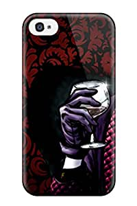 Paul Jason Evans's Shop 4/4s Scratch-proof Protection Case Cover For Iphone/ Hot The Joker Phone Case