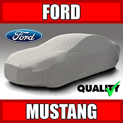 autopartsmarket Ford Mustang Convertible 1987 1988 1989 1990 1991 1992 1993 Ultimate Waterproof Custom-Fit Car Cover