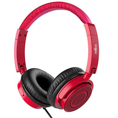 On Ear Headphones with Mic, Vogek Lightweight