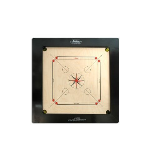 Surco Ace Speedo Professional Carrom Board, 16mm
