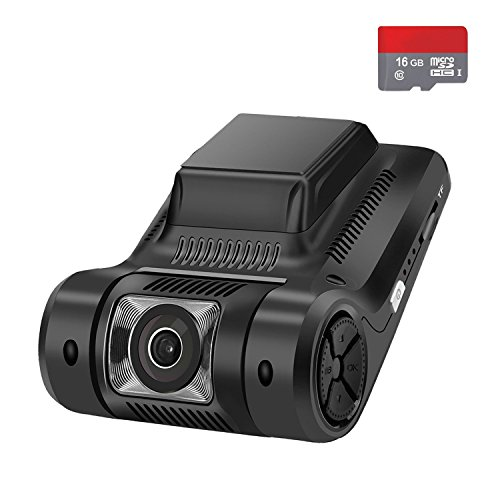 Small-eye 1080P Dash Cam with Dash Cam for Cars Full HD 1080P Dashboard Camera with 6 Lens, G-Sensor, Loop Recording, Motion Detection Car Camera