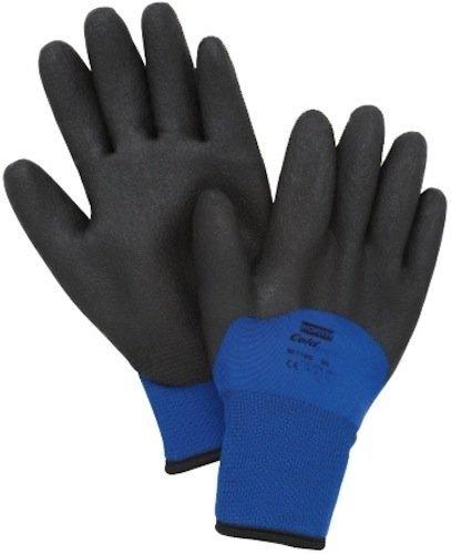 North Safety - Northflex-Cold Grip Winter Gloves Northflex Blue Nylon/Foam Pvc Glove (North Safety Grip)