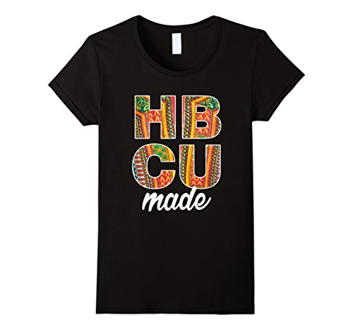 Women's HBCU Made Dashiki Graduate T Shirt Medium Black