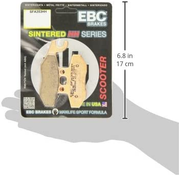 EBC Brakes SFA101HH Sintered Scooter Brake Pad