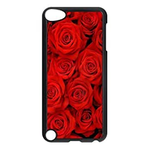 LZHCASE Design Phone Case Rose For Ipod Touch 5 [Pattern-1]