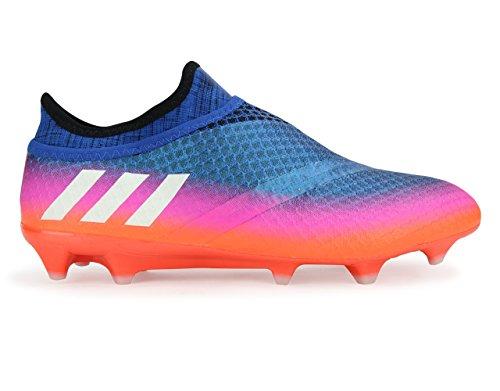 Adidas Männer Messi 16 + PureAgility FG Blau / Weiß / Solar Orange Fußballschuhe