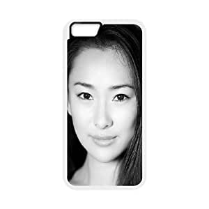 iPhone 6 Plus 5.5 Inch Cell Phone Case White hd22 lily ji portrait sexy model GY9102026