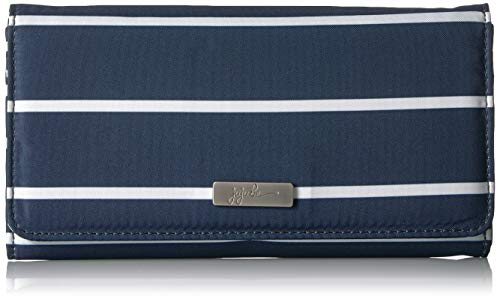 JuJuBe Be Rich Tri-Fold Wallet with Snap Enclosure, Coastal Collection - Nantucket