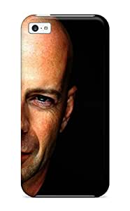 Christmas Gifts Iphone High Quality Tpu Case/ Bruce Willis Case Cover For Iphone 5c TSAGTG7PTU1N1N9S