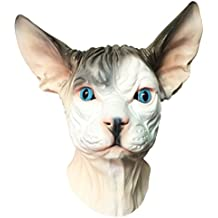 Sphynx Hairless Cat Mask - Off the Wall Toys