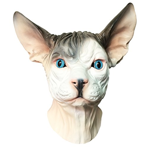 Off the Wall Toys Sphynx Hairless Cat Mask