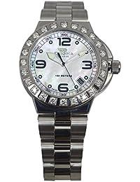 Unisex Caterpillar Diamond 38mm Steel Bracelet Quartz Watch CHD38.QS.S.24.23.MS