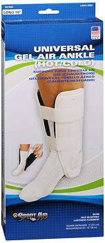 Sport Aid Universal Gel Air Hot/Cold Ankle Support Regular - 1 ea., Pack of 5 by SportAid