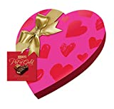 Pot of Gold Valentines HERSHEY'S POT OF GOLD Premium Collection Pink Ribbon Heart Box, 8.9 Ounce