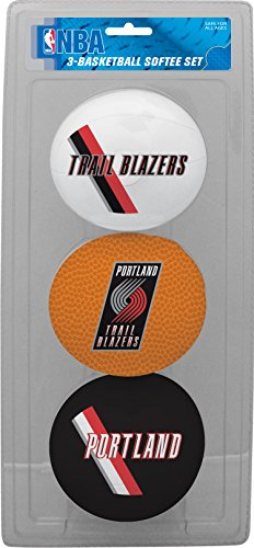 NBA Portland Trail Blazers Kids Softee Basketball , Small, Red