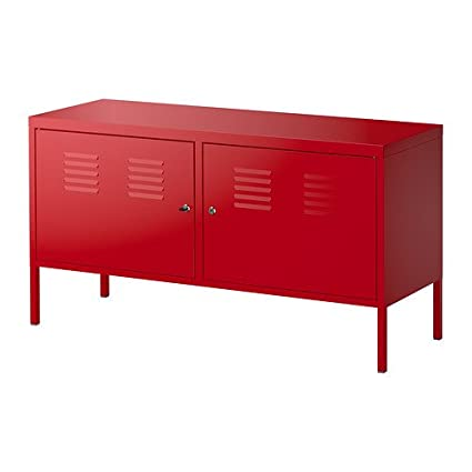"Ikea Ps Cabinet, Red 46 7/8x24 3/4 "", 3426.225.202 by Ikea"