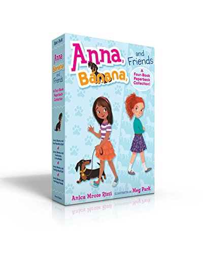 Anna, Banana, and Friends―A Four-Book Paperback Collection: Anna, Banana, and the Friendship Split; Anna, Banana, and the Monkey in the Middle; Anna, ... Bet; Anna, Banana, and the Puppy Parade for $<!--$13.98-->