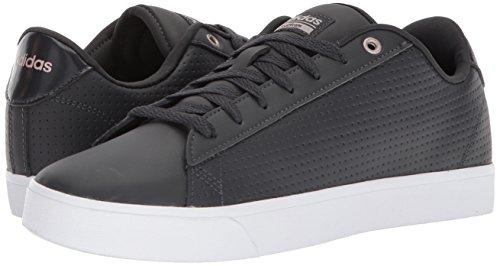 Adidas Neo Women's CF Daily QT CL W, Carbon/Carbon/Vapour Grey, 7 M US