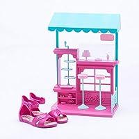 Sandália Grendene Infantil Barbie Confeitaria