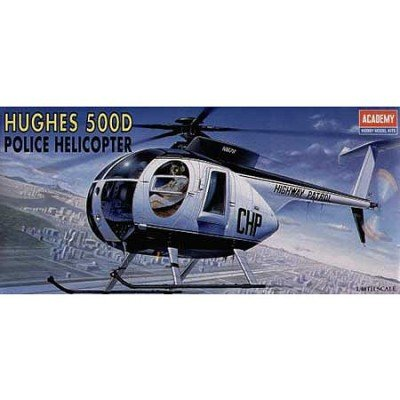 Academy Hughes 500D Police Helicopter