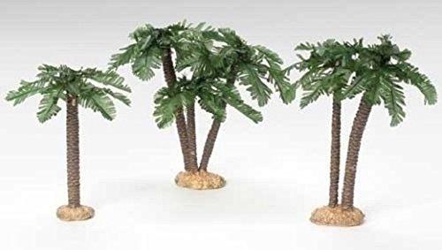 - Fontanini by Roman Palm Trees Nativity Figurine, Set of 3, 5-Inch Each by Roman