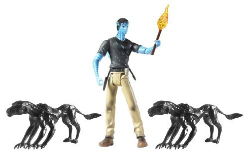 Avatar Viperwolf Attack with Jake Sully Figure ()